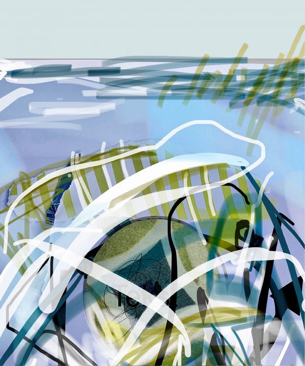 92<>Friesland 1<>Digital drawing<>Print<>size:optional