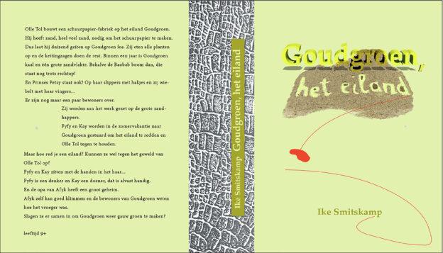 144<>Goudgroen, het eiland<>kinderboek 9+<>64 blz<>21x24cm